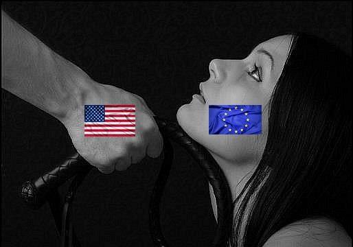 США играет с Европой в политический БДСМ