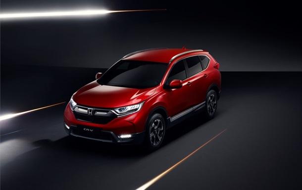 Honda CR-V: внешность авто рассекретили до дебюта