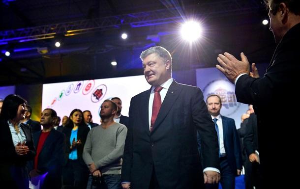 Порошенко не планирует участвовать в парламентских выборах