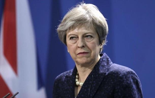 Мей відкинула проект угоди з Брюсселя щодо виходу Великобританії з ЄС
