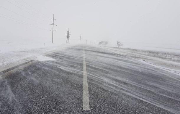 В Одеській області повністю закрили дороги