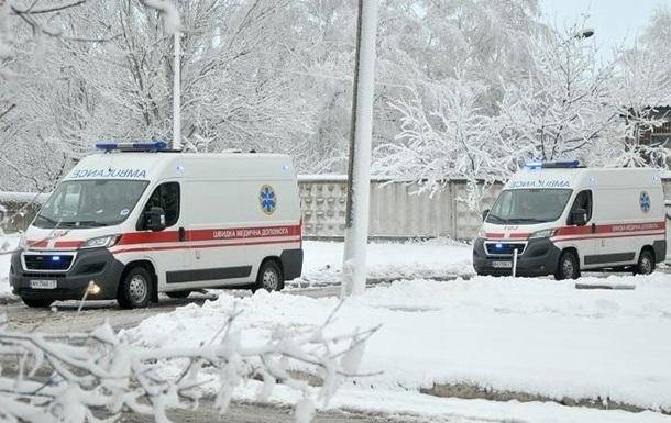 В Луцке замерзли насмерть три человека