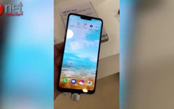 Новий флагман LG G7 засвічений на відео