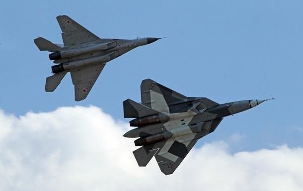 РФ заявила про успішне випробування Су-57 в Сирії