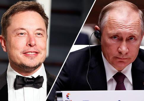 Маск и Путин, или Будущее против прошлого