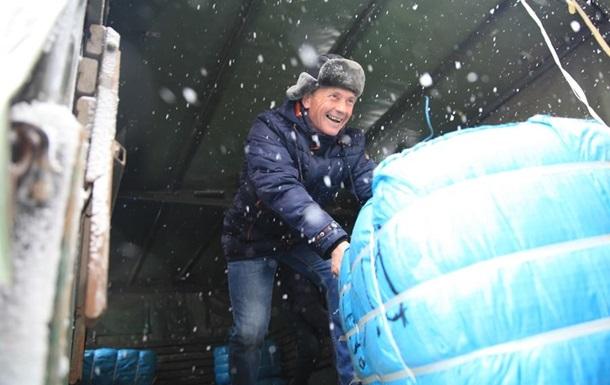 Латвія скерувала чотири вантажівки гуманітарки на Донбас