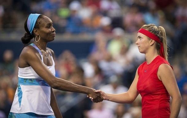 Свитолина сыграет с Винус Уильямс в первом раунде турнира в Нью-Йорке