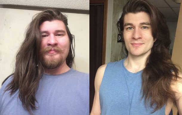 Мужчина похудел и стал похож на диснеевского принца