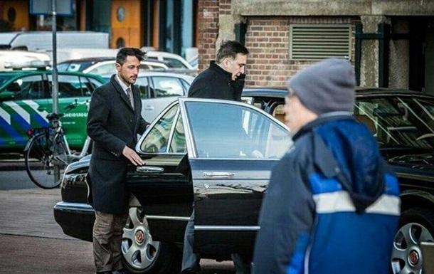 Саакашвили видели в Амстердаме в элитном авто