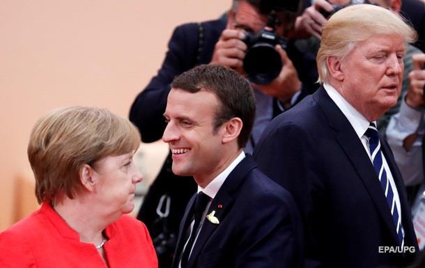 Трамп, Меркель и Макрон обсудили заявления Путина