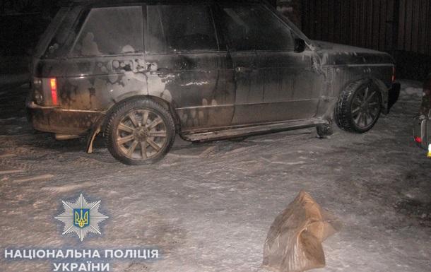В Ровно сожгли авто бизнесмена