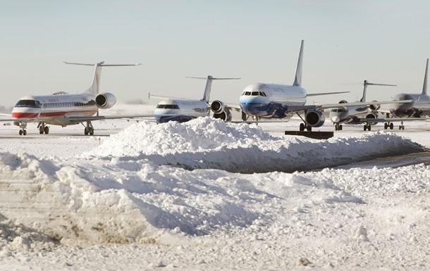 В аеропорту Запоріжжя літак під час посадки занесло