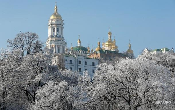 Погода в понедельник: без осадков, слабый мороз