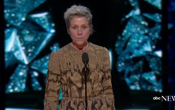 Лауреатка Оскара пришла на церемонию без макияжа
