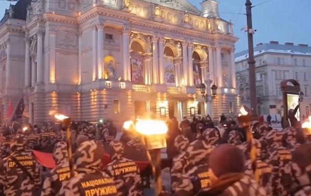 У Львові відбувся марш під антипольськими гаслами