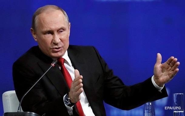 Путин заявил, что в РФ за год поймали почти 500 шпионов