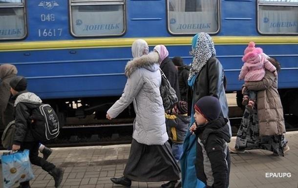 У Мінсоцполітики назвали кількість переселенців із Донбасу і Криму