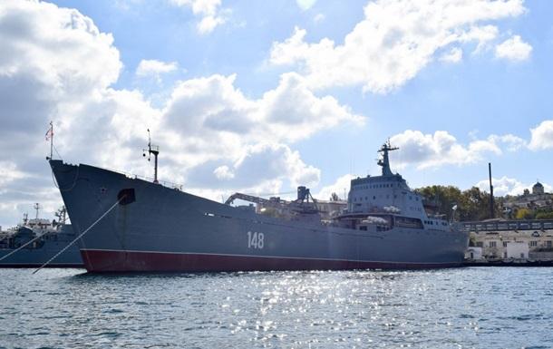 Військовий корабель Росії увійшов в Середземне море