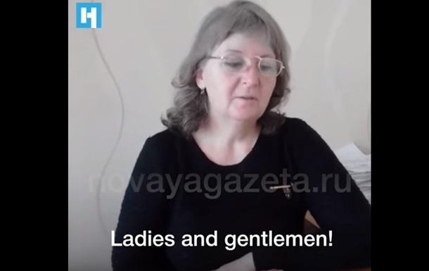 Мати Агєєва звернулася до Трампа і Путіна