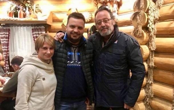 Актер Жан Рено в Карпатах заговорил на украинском