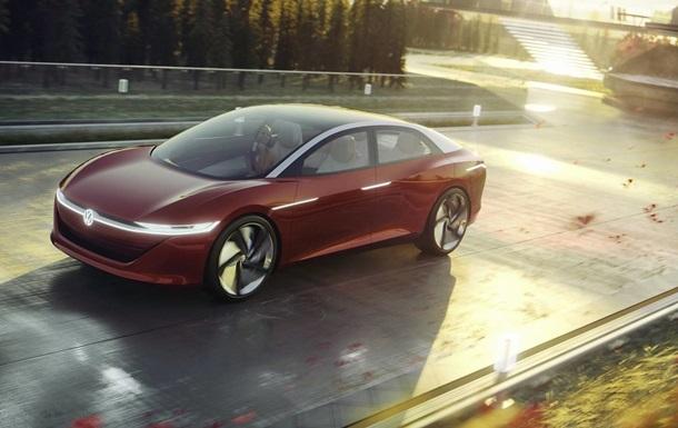 Volkswagen показал  автомобиль будущего  без руля