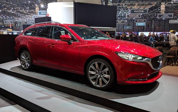 У Женеві дебютував новий універсал Mazda 6