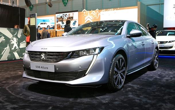 Новый Peugeot 508  засветился  на живых фото
