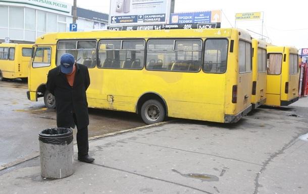 В Киеве нашли десять нелегальных автобусных перевозчиков