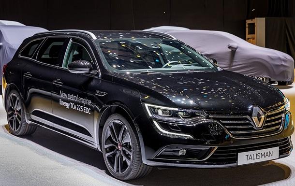 Renault представила універсал Talisman S-Edition