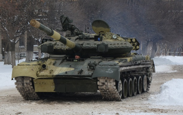 ВСУ получат партию модернизированных танков Т-84