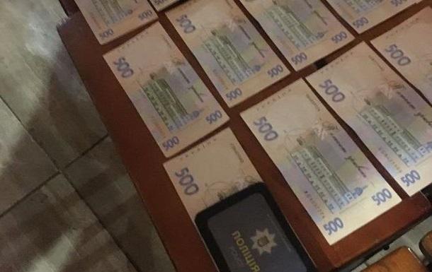 Под Харьковом глава райотдела полиции требовал взятки за вырубку леса