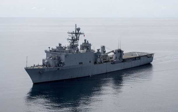 У Чорне море увійшов корабель США з морпіхами