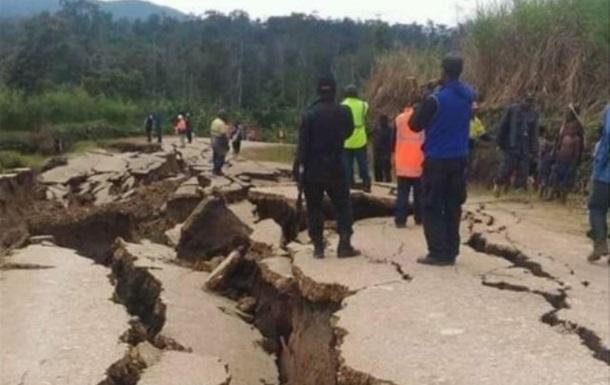 Землетрус у Папуа-Новій Гвінеї: Кількість жертв зросла до 100