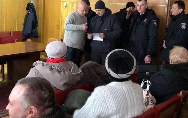 В Киеве сорвали конференцию малых народов Украины