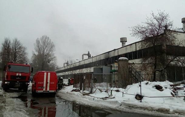 В Киеве сгорели четыре автобуса