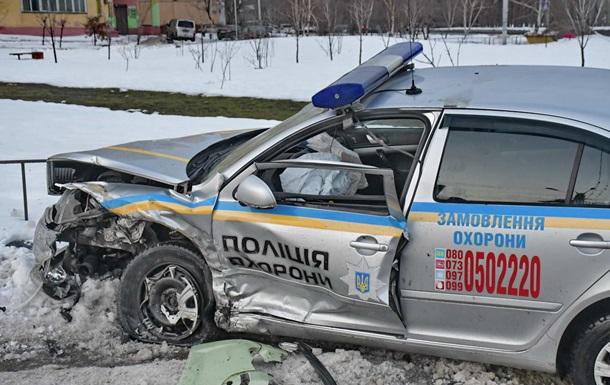 У Києві та Рівному за ніч постраждало 5 поліцейських