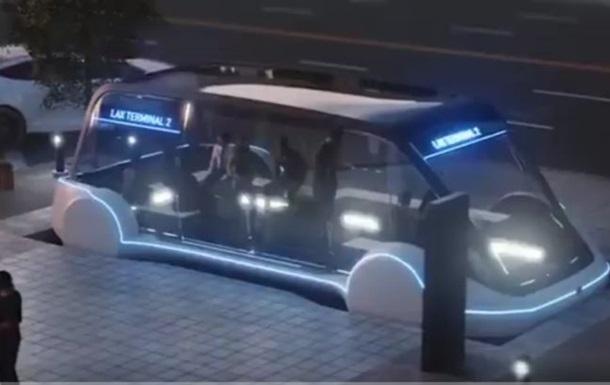 Ілон Маск показав проект підземного електробуса
