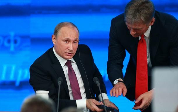 Путин признал, что его пресс-секретарь иногда несет  пургу