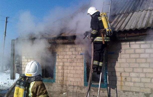 На Кировоградщине при пожаре погибли три ребенка