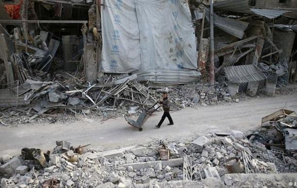 Війська Асада ізолювали два важливих міста Східної Гути - спостерігачі