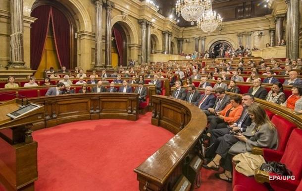 У Каталонії відклали обрання лідера
