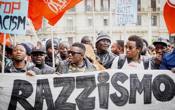 Во Флоренции тысячи протестовали против расизма