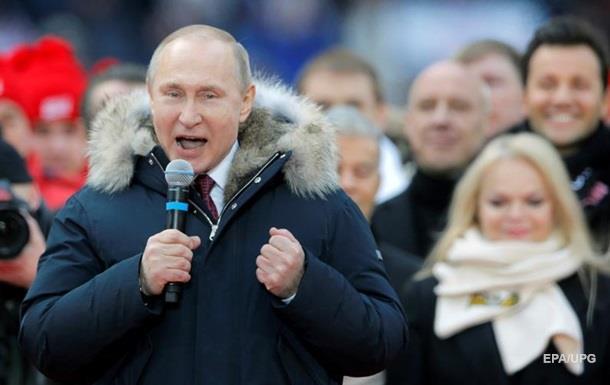 Путін поїде агітувати в Крим
