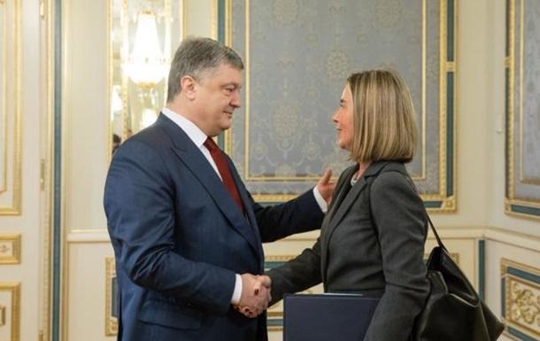 Порошенко призвал отправить на Донбасс миссию ЕС