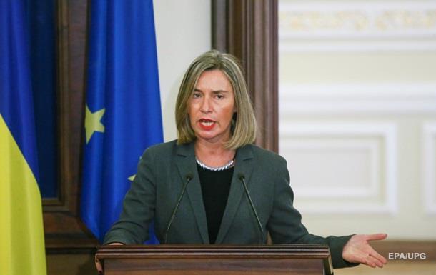 Могерини: ЕС не признает российские выборы в Крыму