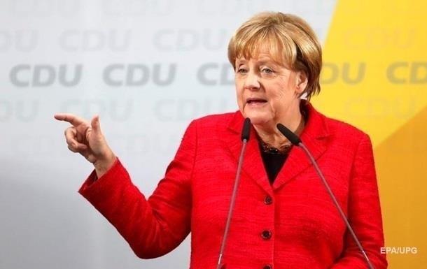Меркель не готова к частичной отмене санкций против РФ