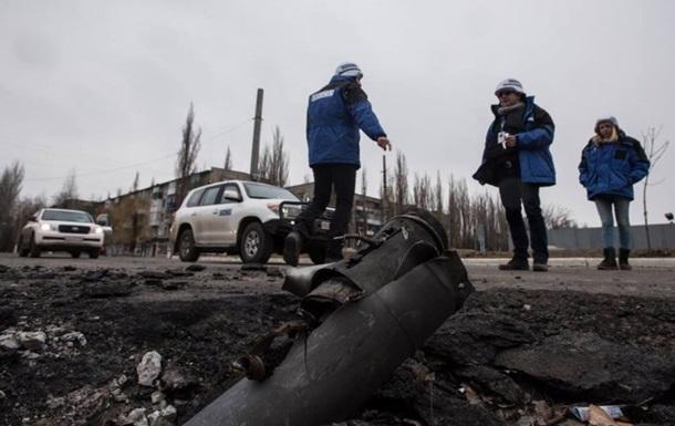 В ОБСЕ за сутки насчитали 41 взрыв на Донбассе