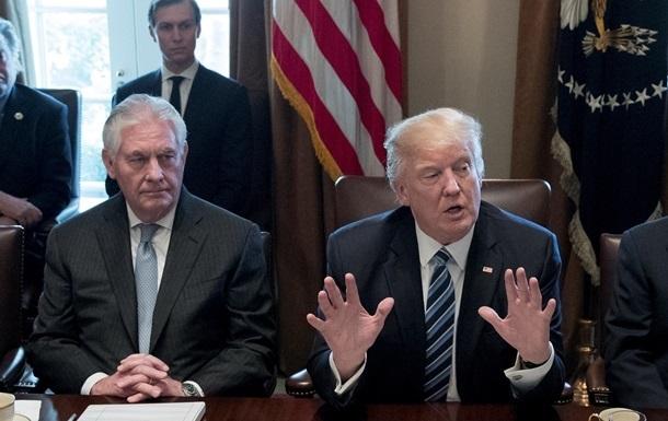 Трамп назвав причину відставки Тіллерсона