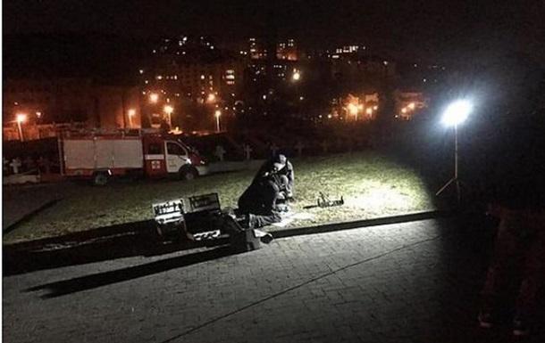 Открыто дело по факту взрыва во Львове у польского Мемориала орлят