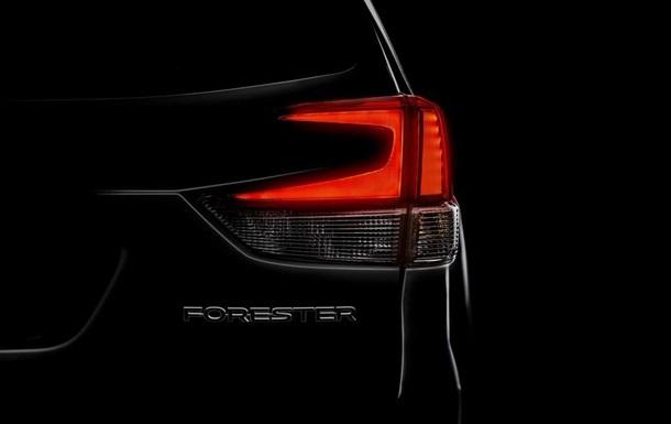 Опубліковано перший знімок нового Subaru Forester